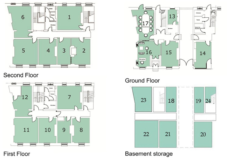 Langham House Business Centre Floor Plans